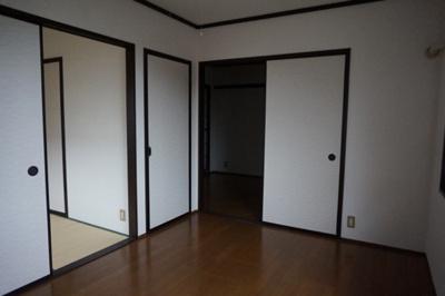 【寝室】スカイハイツ
