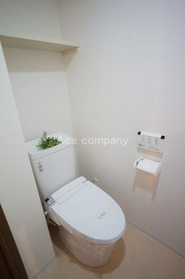 トイレ新調です☆温水洗浄便座付きです♪