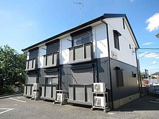 【外観】幸ハイツ-デザインリフォーム賃貸アパート