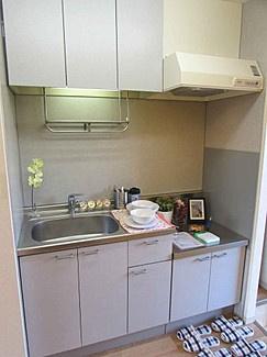 【キッチン】幸ハイツ-デザインリフォーム賃貸アパート