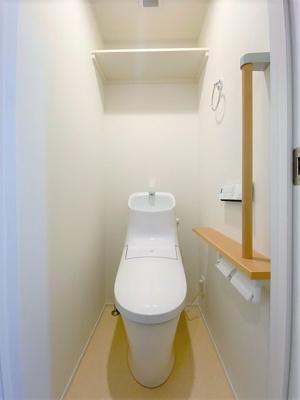 【トイレ】【新築】クリスタル