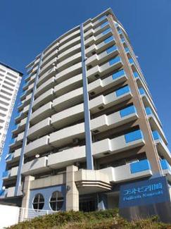 外観です フジトピア川崎 3LDK+W 1996年12月築 JR東海道線「川崎」駅徒歩12分 上階角部屋につき、陽当たり・眺望・風通し良好! 2面バルコニー! 家具付き・エアコン付き