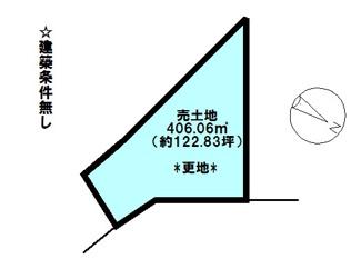 【土地図】近江八幡市古川町 売土地