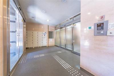 【エントランス】プリメール柳島 5階部分 リフォーム済 平成8年築 押上駅5分