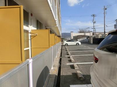 【駐車場】レオパレスサン・ビレッジII