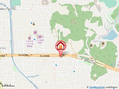 【地図】グランドマンション茶うす