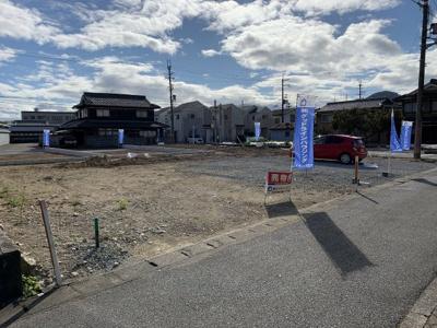 【前面道路含む現地写真】和田町建売①号地