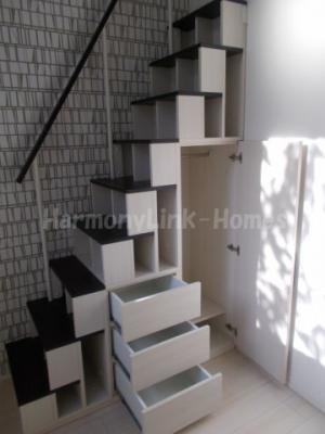 ハーモニーテラス浮間の収納付き階段(昇降が安全です)②☆