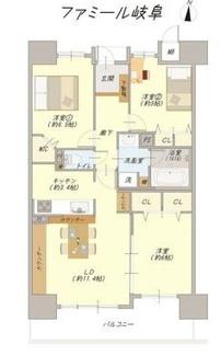 ファミール岐阜 中古マンション リノベーション住宅 管理費・修繕積立金が経済的です。