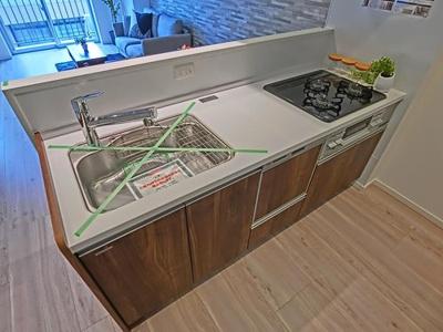 食器洗浄乾燥機付きのシステムキッチンで、家事が少し楽になりそうですね。