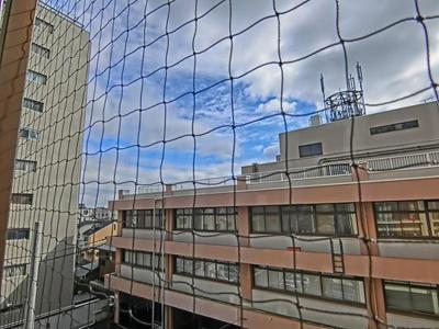 12階建4階部分からの眺望です。