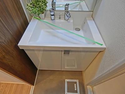 手洗い場スペースにはハンドソープなども置いていただけますね。