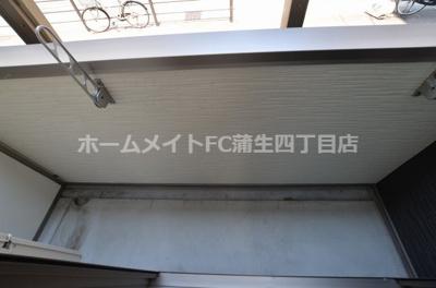 【バルコニー】フジパレス関目