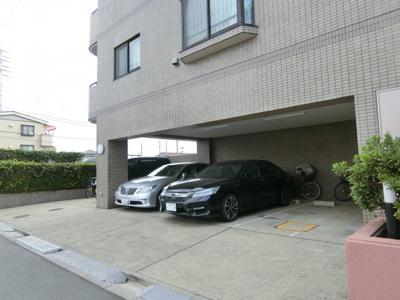 【駐車場】バームハイツお花茶屋