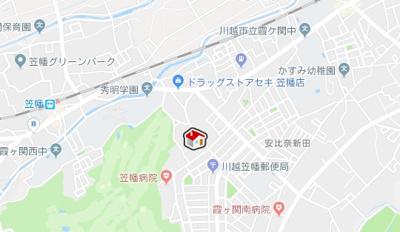 【地図】レオパレスアネックス(36460-107)