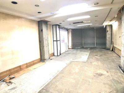 東住吉区駒川/商店街角地 1階店舗! 約13坪! 駒川商店街 /駅近