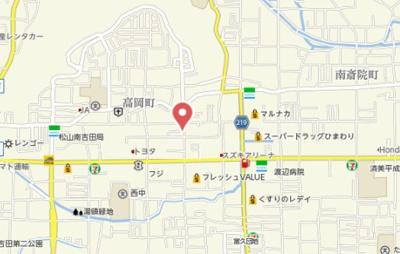 【地図】シュピーレン空港通B