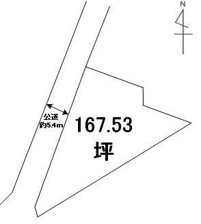 【土地図】笠間市安居土地