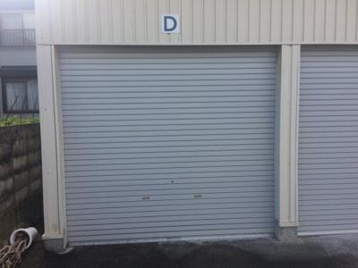 ※別のガレージの写真になります。