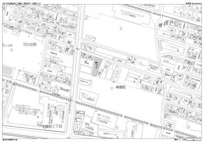 【地図】高須第一月極駐車場