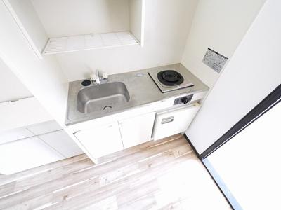 【キッチン】新大宮タカハシ荘
