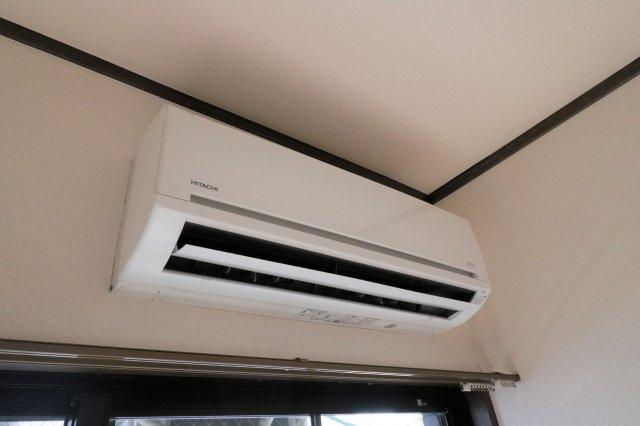 エアコン設置済みで、入居してすぐから快適に過ごしていただけます