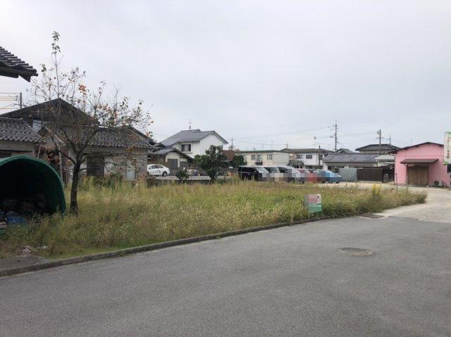 【前面道路含む現地写真】米子市米原9丁目 売土地