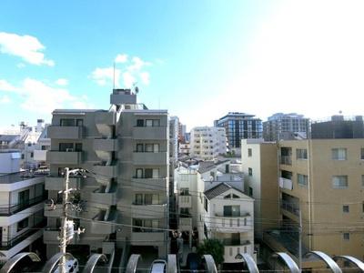 9階建5階部分からの眺望です。