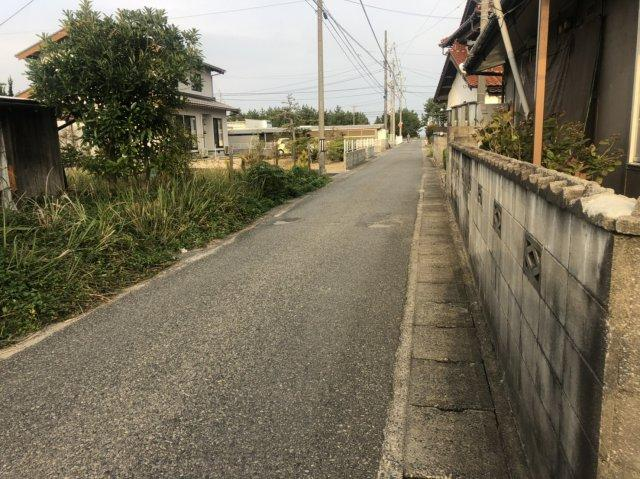 【前面道路含む現地写真】米子市大篠津町 売土地