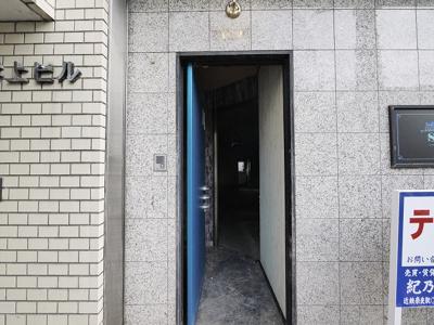 【エントランス】井上ビル(大宮町)