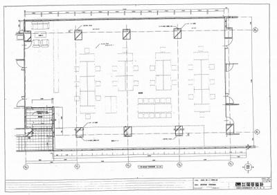 【区画図】カーサエトワール2F貸事務所