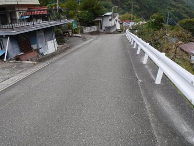 【前面道路含む現地写真】芦安芦倉売地