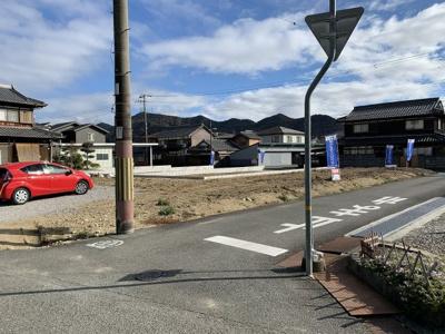 【前面道路含む現地写真】和田町建売②号地