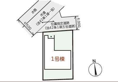 【区画図】リーブルガーデン倉敷市川入第2