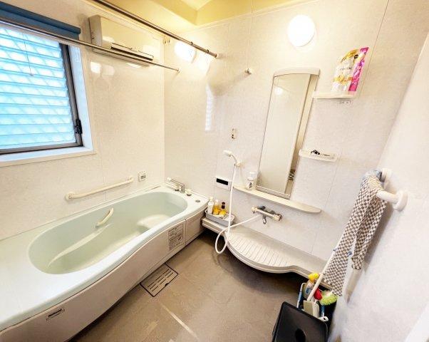 広々としたお風呂は1.25坪もございます!