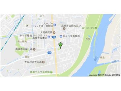 【地図】大塚チェリーハイツ8