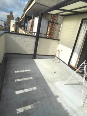 【バルコニー】大阪市生野区鶴橋5丁目 中古戸建