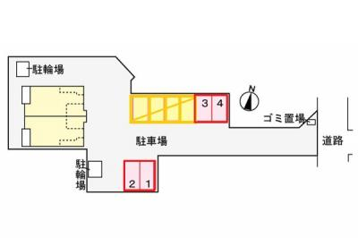 【駐車場】ヴィ コンフォールⅢ