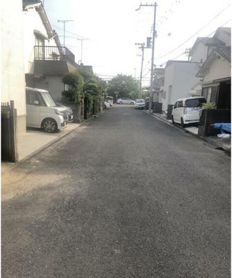 【前面道路含む現地写真】和歌山市太田 中古戸建