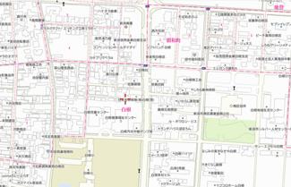 【地図】新潟市南区白根 売地
