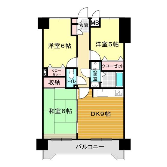 アミティビブレ下関 303号室