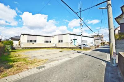 【外観】魚住町中尾 店舗、事務所、作業所、倉庫