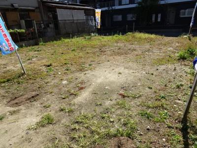 【外観】売土地 四條畷市美田町(建築条件無・更地)