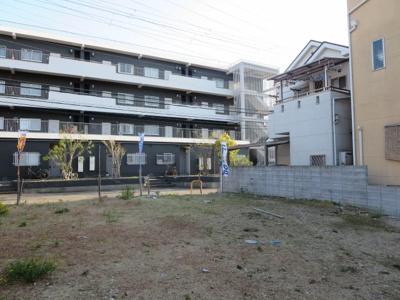 【外観】売土地 四條畷市美田町(更地)建築条件無し