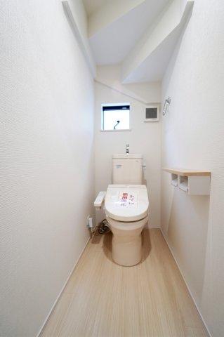 【トイレ】収納豊富な新築戸建て 戸田市笹目南町19-1期
