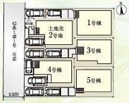 【区画図】収納豊富な新築戸建て 戸田市笹目南町19-1期