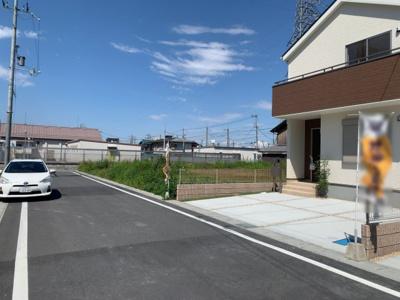 【前面道路含む現地写真】大津市本堅田6丁目5付近 新築分譲