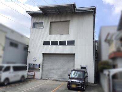 【外観】百舌鳥梅北町/倉庫 約74坪! 駐車5台可!