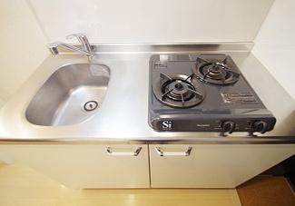 【キッチン】《高稼働!軽量8.34%》川崎市多摩区生田7丁目一棟アパート