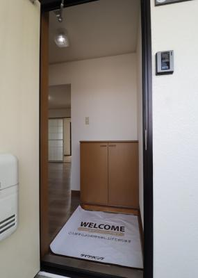 【玄関】グリーンフィールズA棟